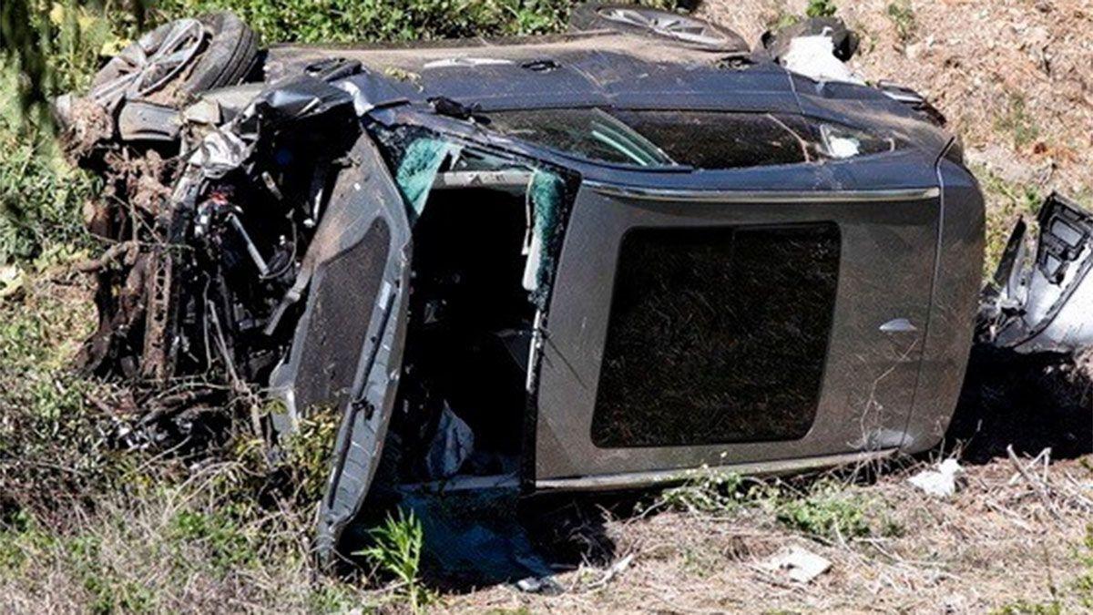 Tiger Woods aceleró su auto antes de su terrible accidente