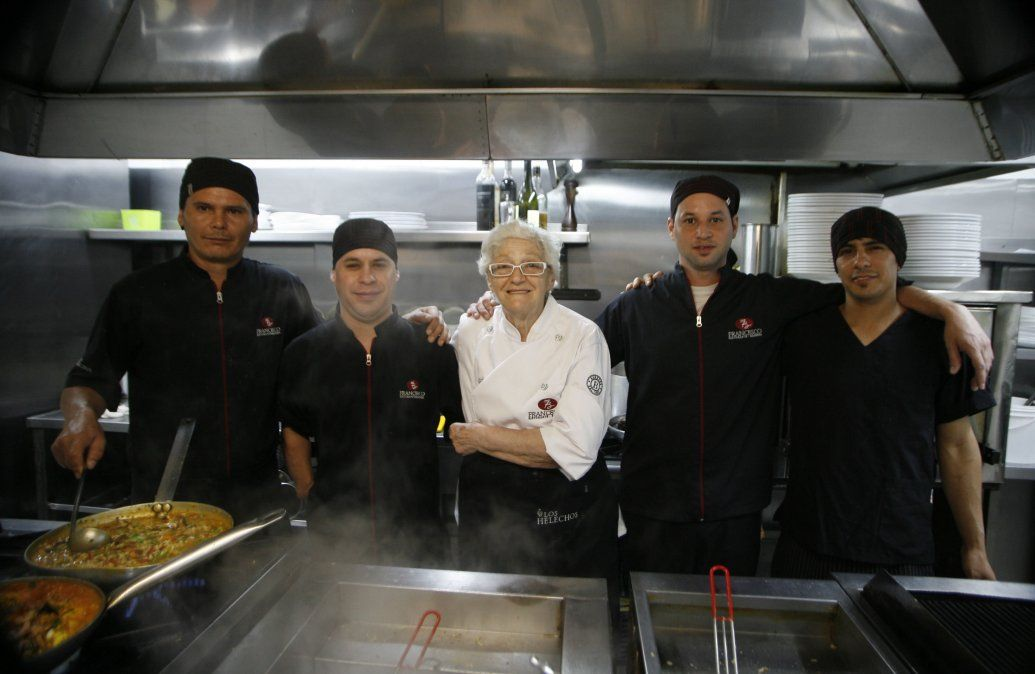 Teresa Barbera, toda una vida dedicada a la cocina