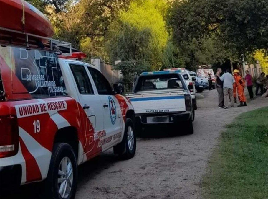 Una mujer murió el domingo tres ser arrastrada por las aguas durante la súbita crecida de un arroyo cerca de la localidad de Cortaderas