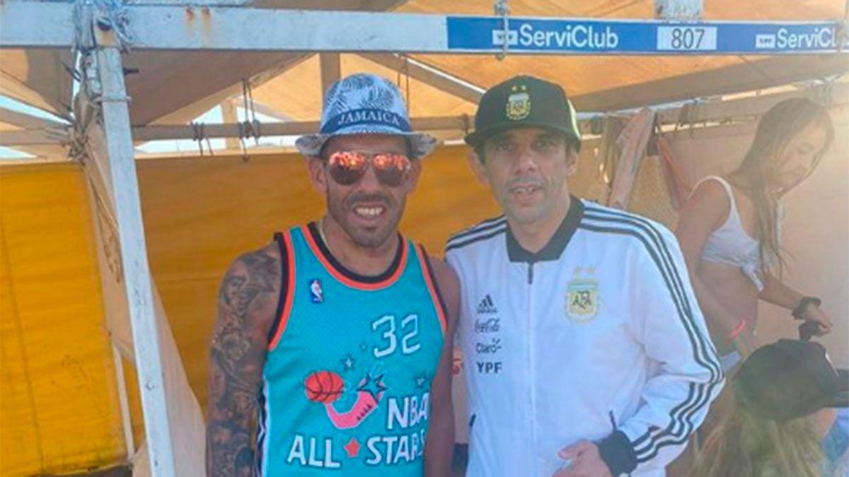 Carlos Tevez cumplió con su cábala de verano