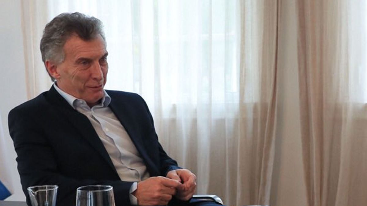 Macri criticó en su mensaje por Año Nuevo al gobierno de Fernández.