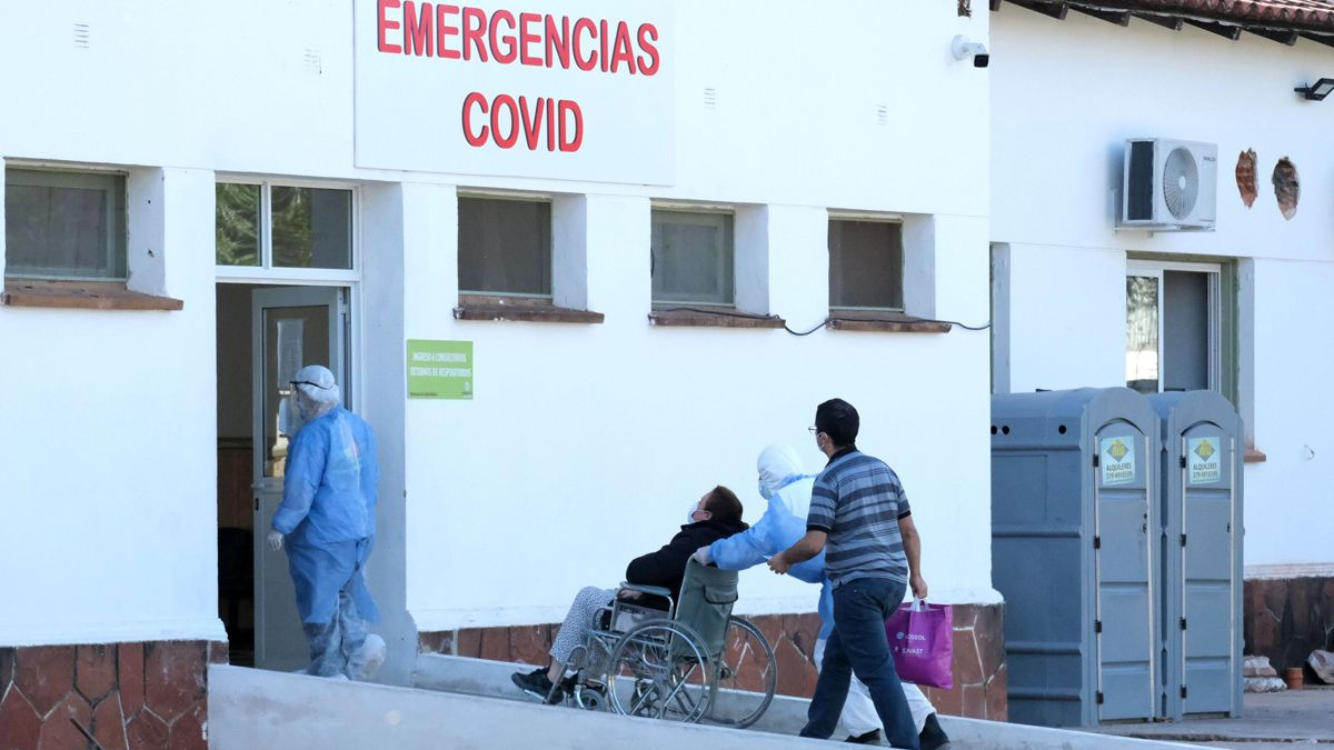 Corrientes registró este domingo récord de internados por Covid.