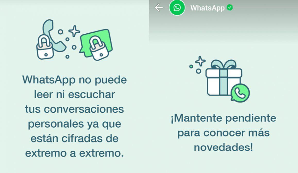 WhatsApp no puede leer ni escuchar tus conversaciones, el mensaje para hacerle frente a Telegram