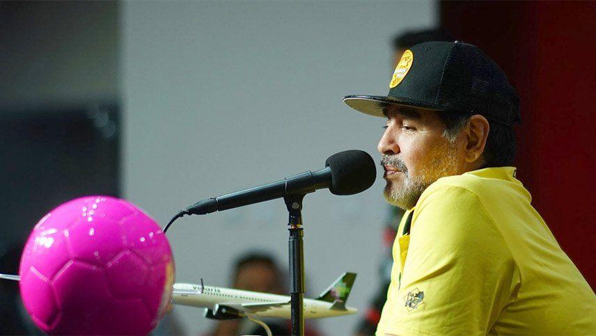 Maradona quedó muy cerca de ser el nuevo entrenador de Gimnasia y Esgrima La Plata