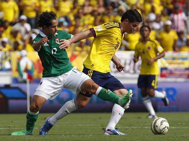 Colombia goleó a Bolivia y sigue su marcha hacia el Mundial