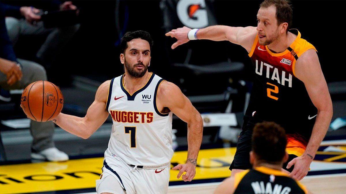 Con Campazzo en duda, los Nuggets visitan a Sacramento Kings