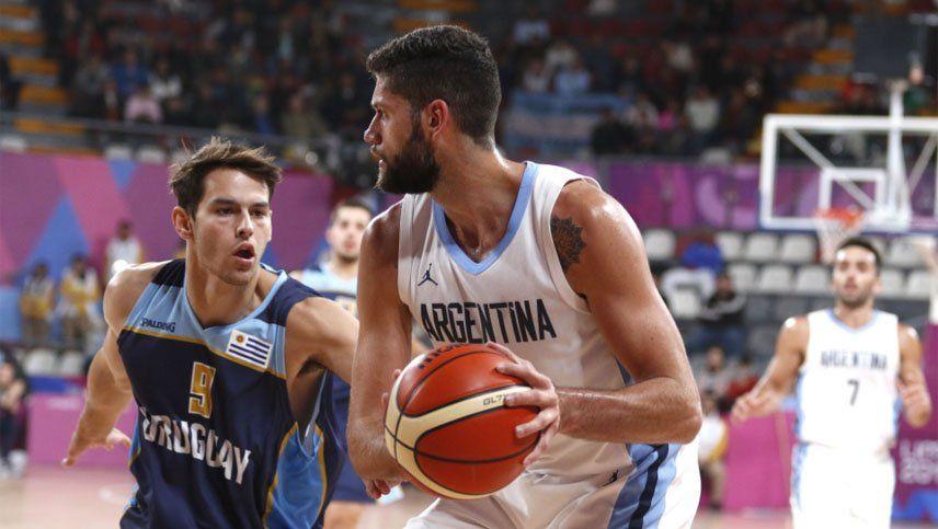 En basquet masculino, Argentina venció a Uruguay y ratificó que es candidato