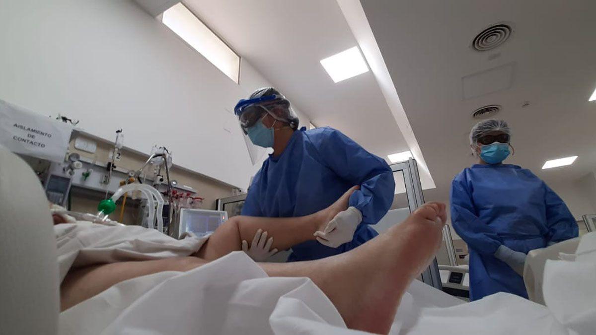 La terapia intensiva del hospital Lagomaggiore está colmada