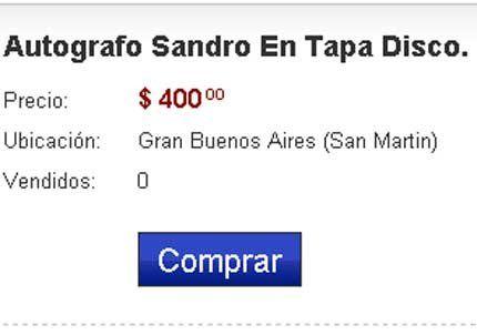 La muerte de Sandro disparó las ventas de sus CDs y DVD`s