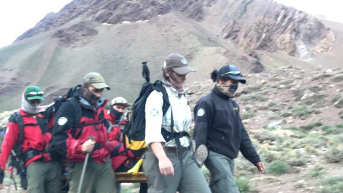 El accidente de Micaela Delgado se produjo en la zona de Acarreo Blanco