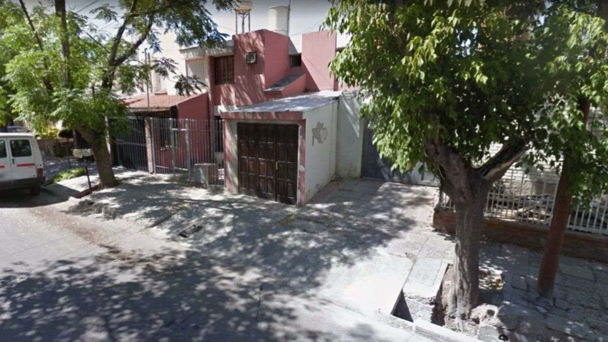 La casa de barrio Unimev donde actuaba el abusador serial.
