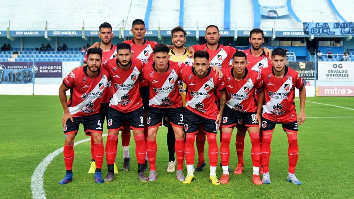 Deportivo Maipú empató agónicamente con Estudiantes de Río Cuarto