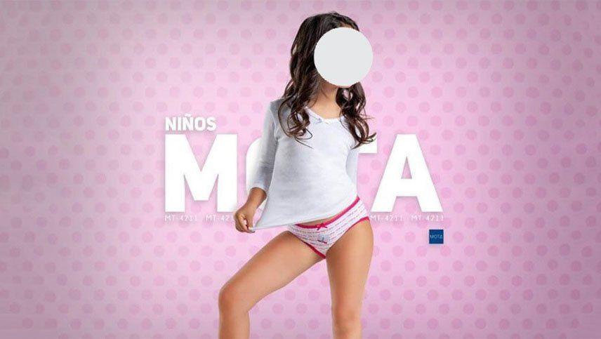 Polémica por la hipersexualización de niñas en publicidades escolares en Chile