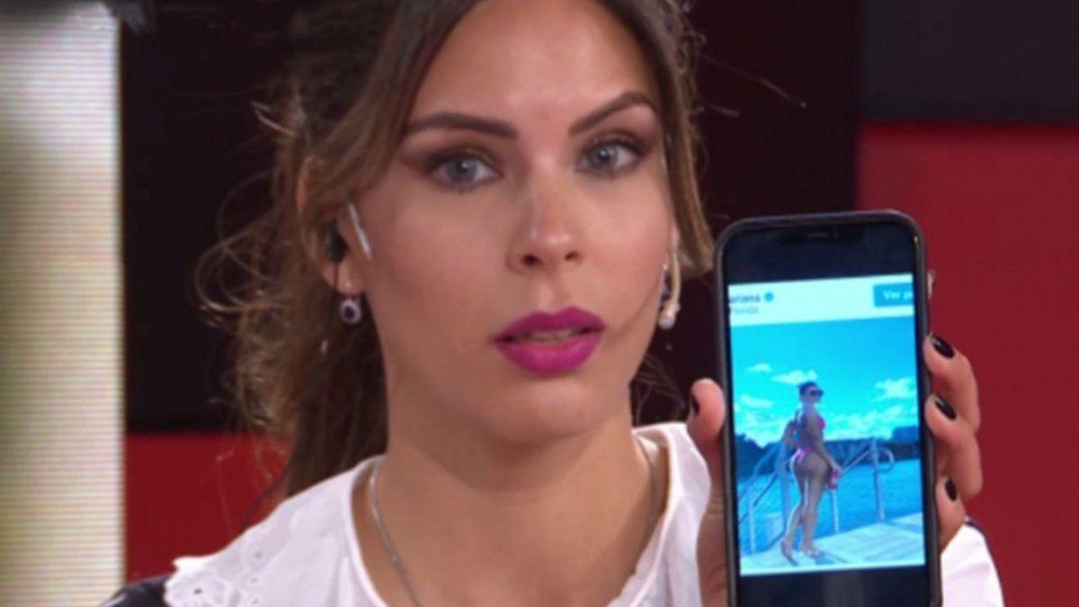 Barby Franco mostró una foto de Mariana Brey en bikini y la acusó de usar photoshop: No tiene esos glúteos