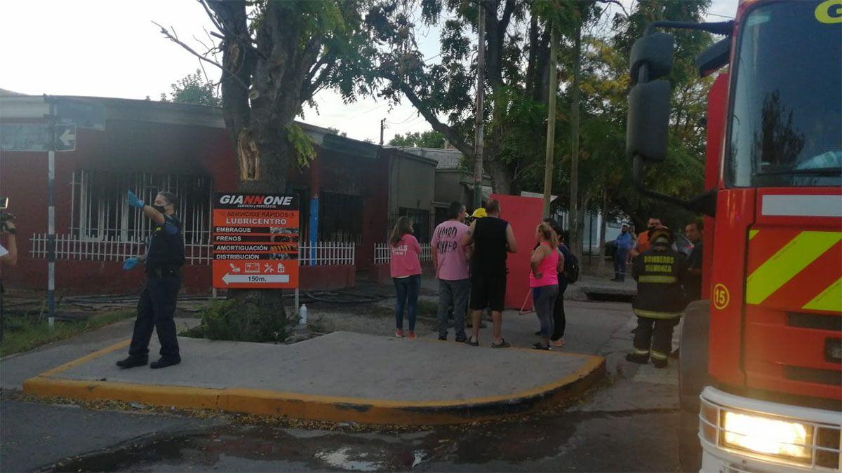 Una mujer murió en un incendio en Guaymallén