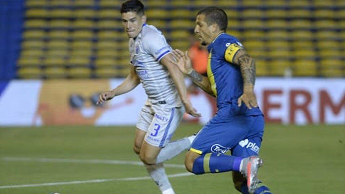Leonel González y el error de Godoy Cruz en la pelota parada