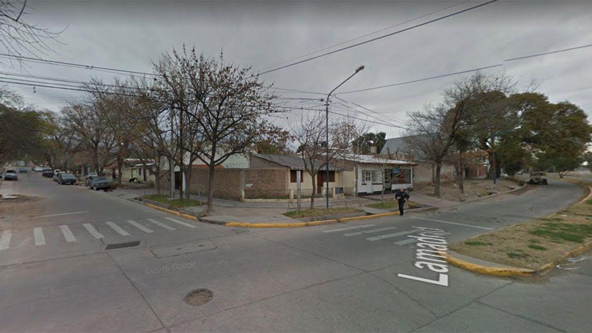 Lugar del crimen: calles Juncal y Lamadrid