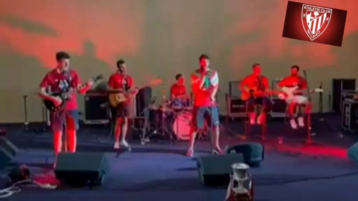 Video: Orsai, la banda rockera de los jugadores del Athletic de Bilbao