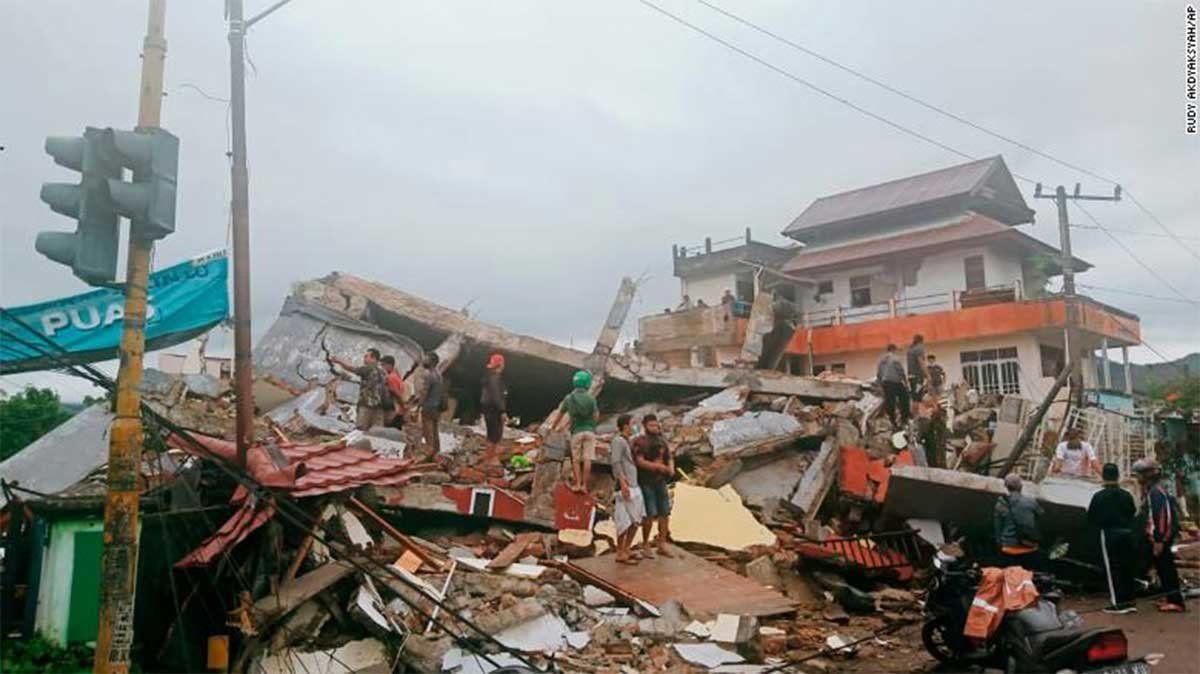 Un terremoto en Indonesia