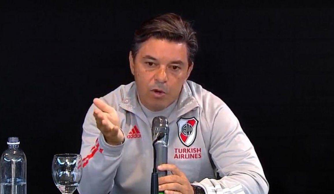 Postura de Gallardo: ¿Borré y Girotti pueden jugar juntos?