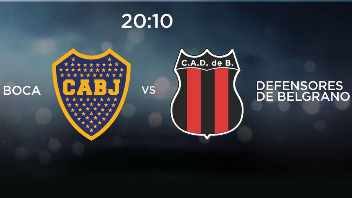 Boca enfrentará a Defensores de Belgrano por Copa Argentina