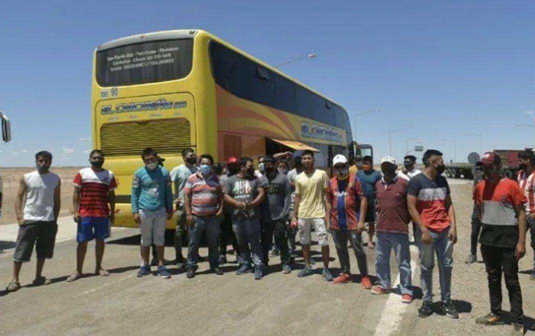 Los trabajadores golondrina están varados en el departamento sanjuanino de San Carlos