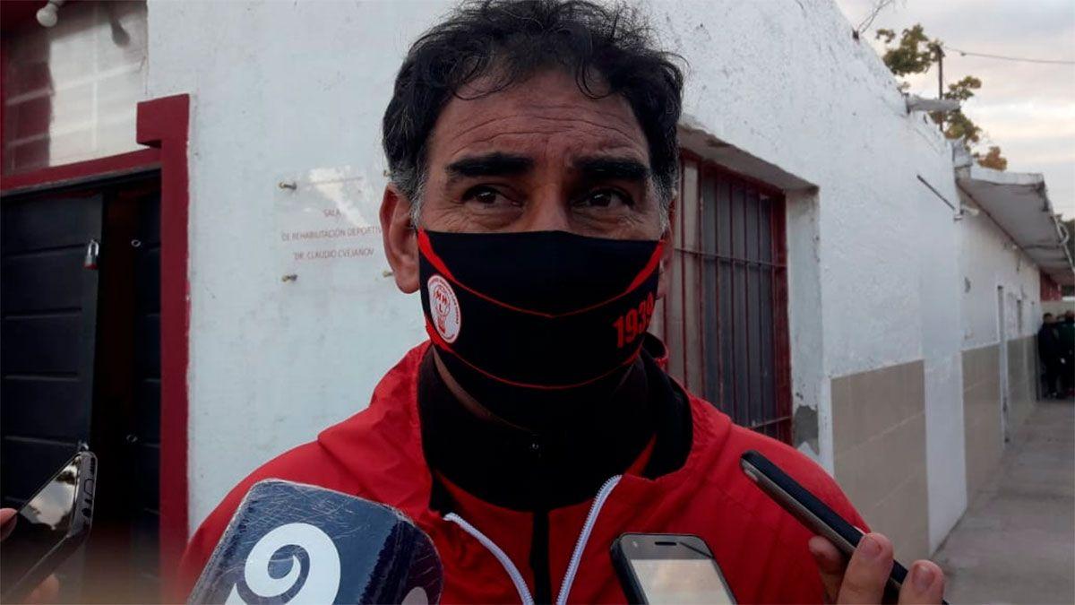 Darío Alaniz: Estamos en carrera nuevamente