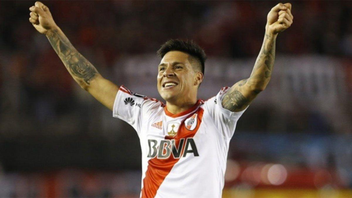 Enzo Pérez espera otra final de la Libertadores contra Boca