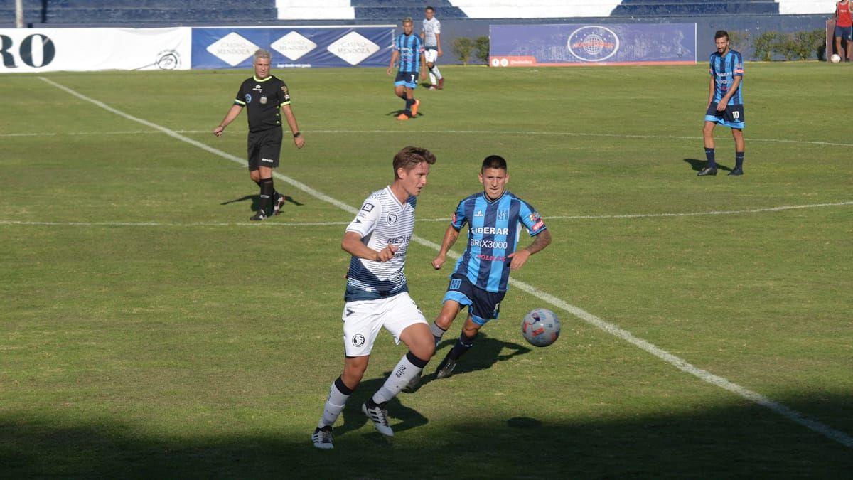 Independiente Rivadavia fue puro coraje y venció a San Telmo en un partidazo