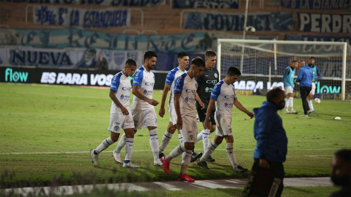 Godoy Cruz fue vapuleado por River que lo venciò por 6 a 1. (Fotos Fernando Martinez/UNO).