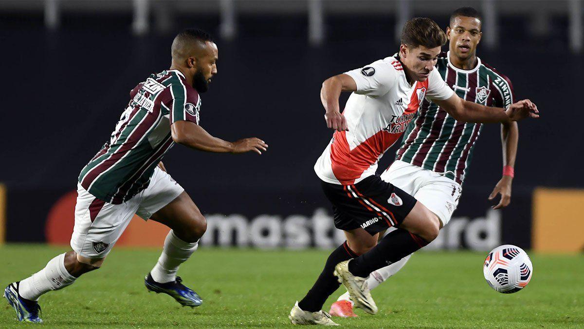 River cayó ante Fluminense pero se clasificó
