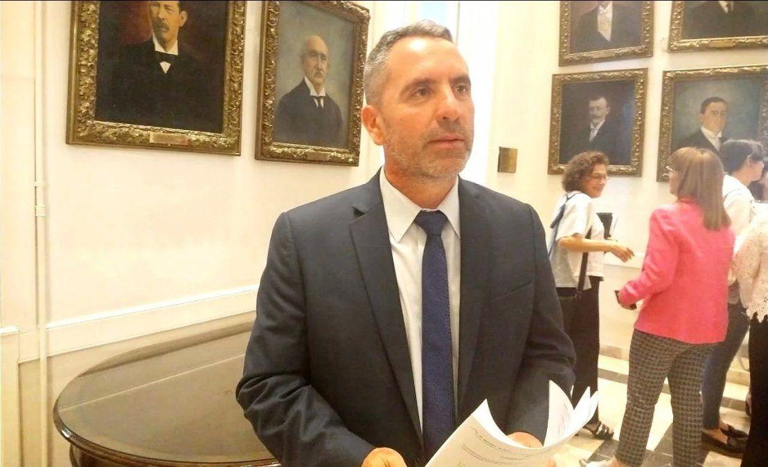 El diputado de provincial Jorge Difonso