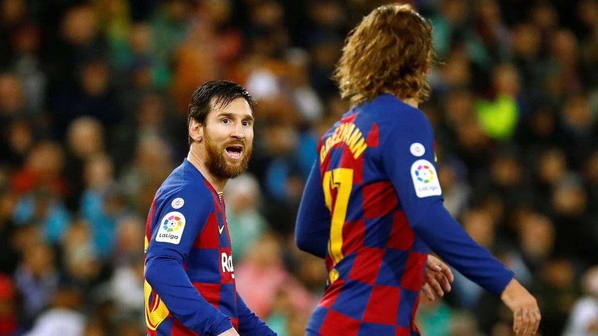 Antoine Griezmann reconoció que tuvo problemas para entenderse con Messi.
