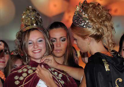 Erika Vanesa Gitto es la Reina de la Vendimia de San Martín