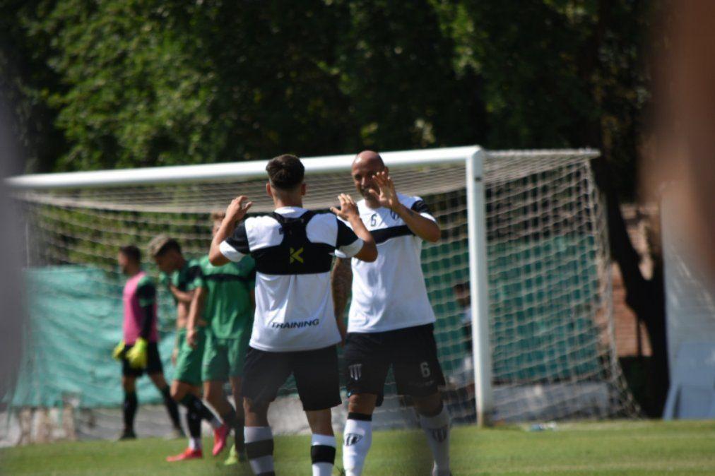 Gimnasia le ganó 3 a 0 a San Martín de San Juan en el Legrotaglie.