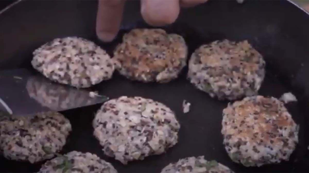 Receta: croquetas de quinoa y atún
