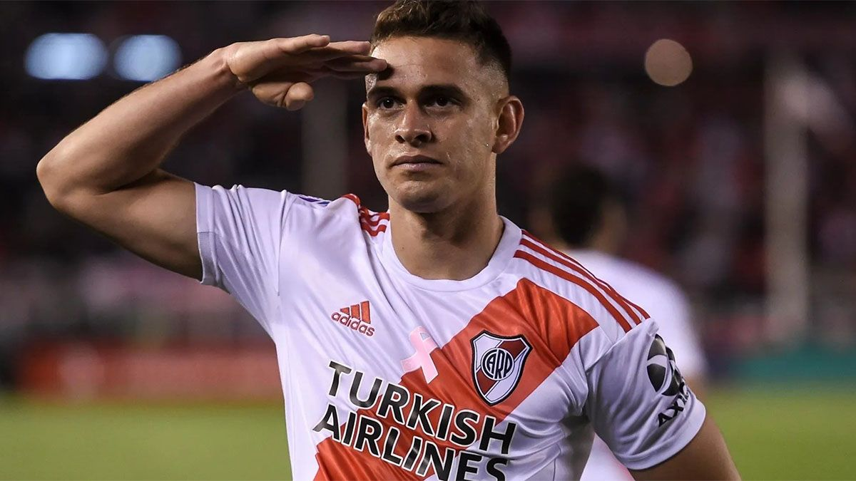 A pesar de estar lesionado, Gallardo convocó a Borré para la Copa
