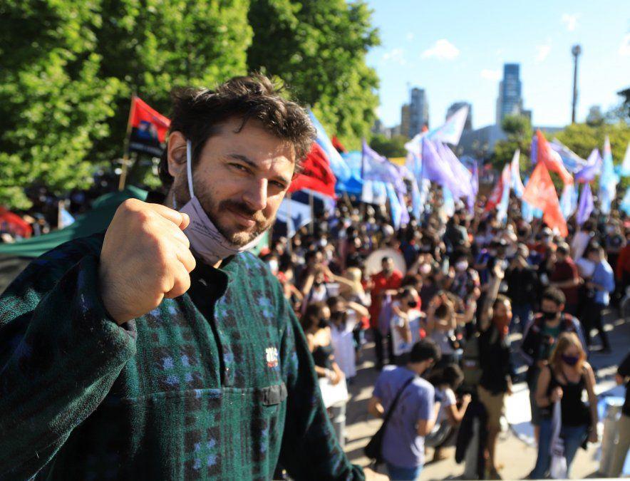 Reapareció Juan Grabois con fuertes críticas al gobierno