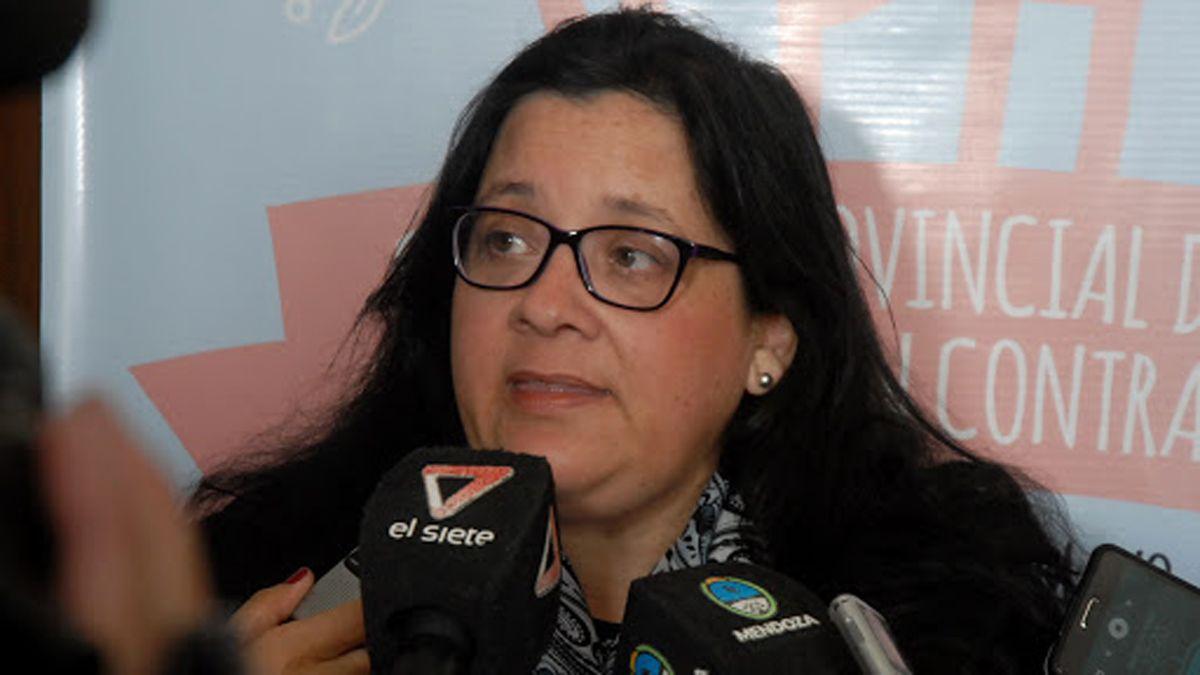 Iris Aguilar, jefa de Inmunizaciones de Mendoza.