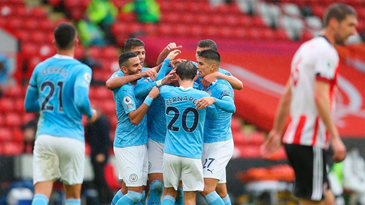 Manchester City, sin el Kun Agüero, ganó ajustadamente