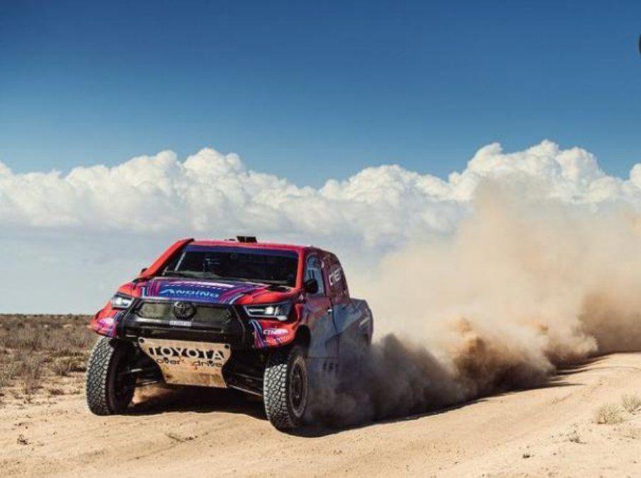 Lucio Álvarez, entre los mejores en el Rally de Kazajistán