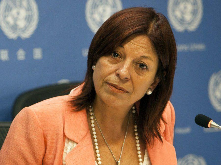 La ex senadora nacional