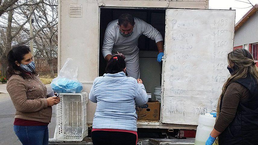 Un carnicero de San Rafael donó más de 4 toneladas de mercadería por la pandemia