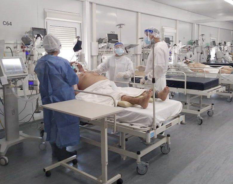 La ocupación de camas de terapia intensiva en la Argentina es cercana al 70%. El Covid parece no tener freno.
