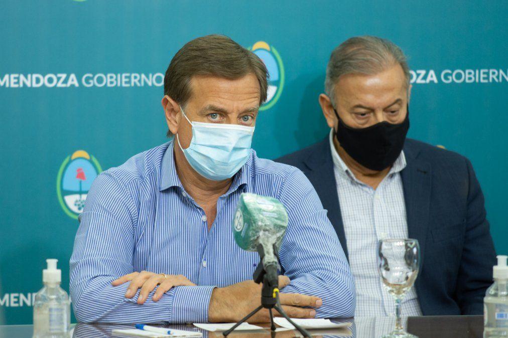 Coronavirus en Mendoza: Suarez definirá las nuevas restricciones en Mendoza
