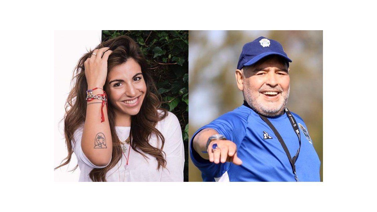 A Giannina Maradona le consultaron por la salud de Diego y ...