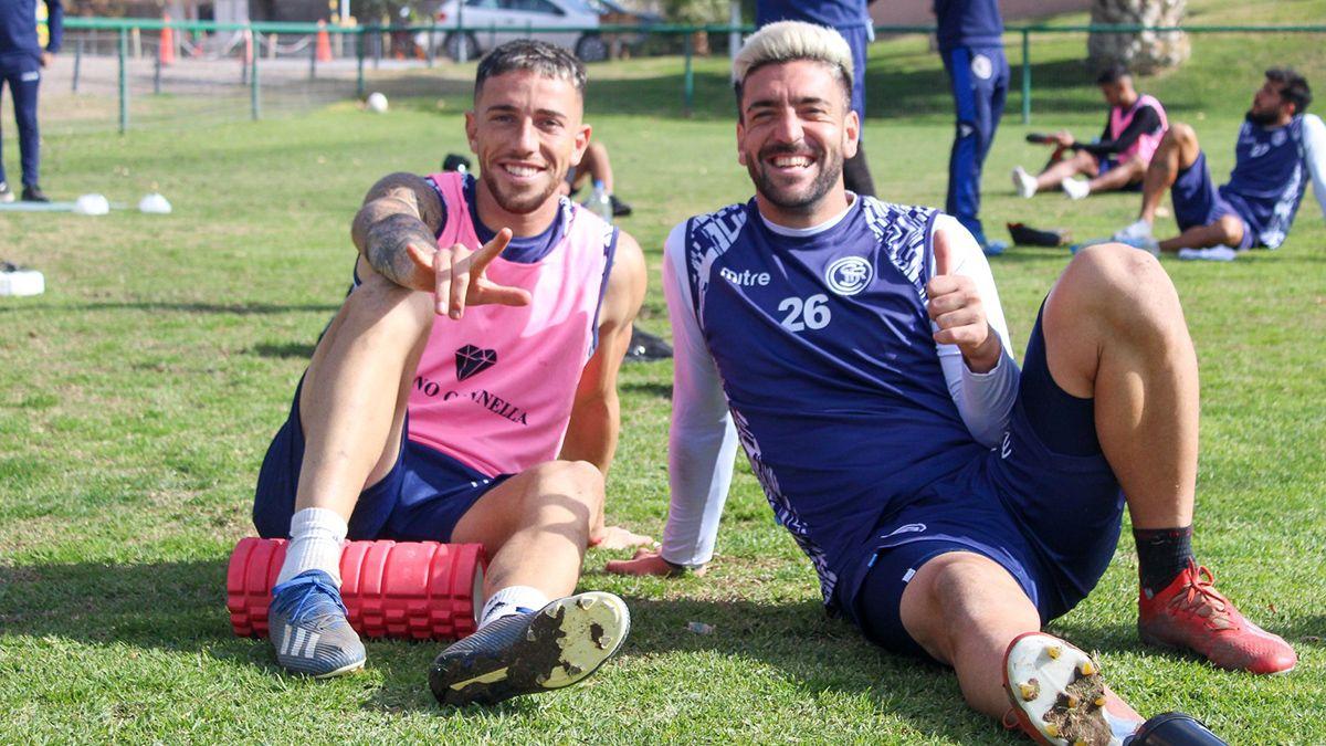 Romero y Rébola están entre los once que Gabriel Gómez pondría ante Barracas Central.