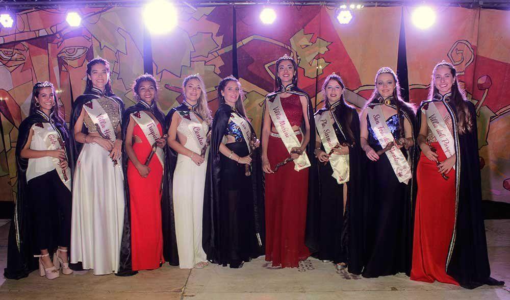 Estas son las 9 candidatas a reina de la Vendimia de Godoy Cruz