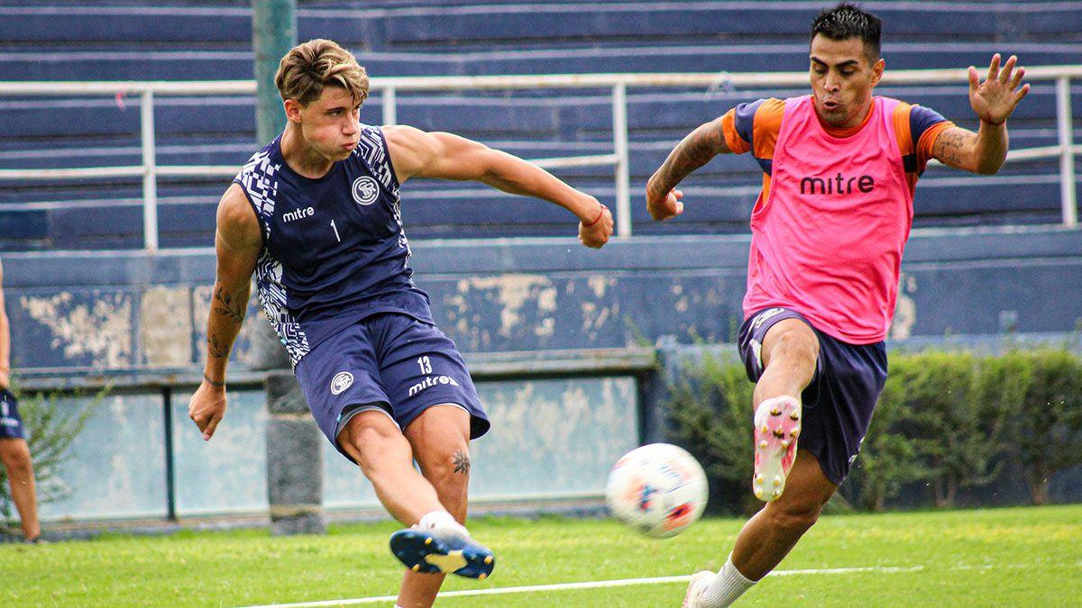 La Lepra hizo fútbol en el estadio Bautista Gargantini.