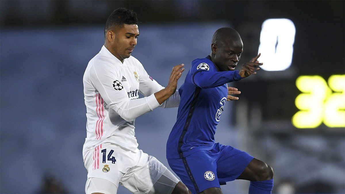 Real Madrid y Chelsea no se sacaron ventajas en la ida de las semifinales